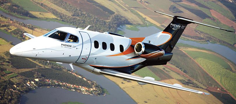 Embraer -  à louer TissoT Aviation Charter Suisse