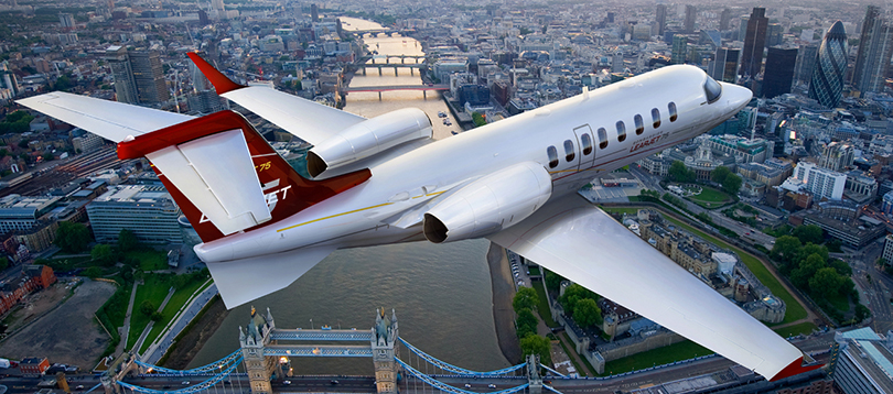 Bombardier - Learjet 75 Super Light Jets TissoT Aviation et Services