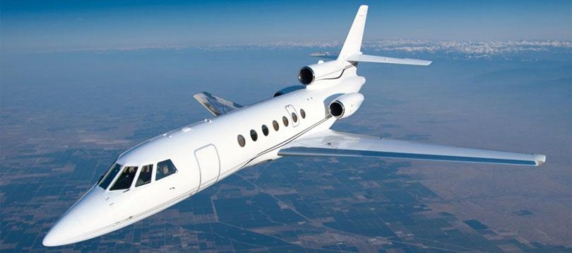 Jet privé avion aéronef  Falcon 50 / 50 EX TissoT Aviation et Services