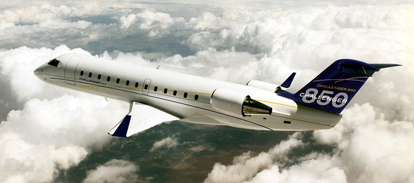 Bombardier - Challenger 850 Heavy Jets TissoT Aviation et Services