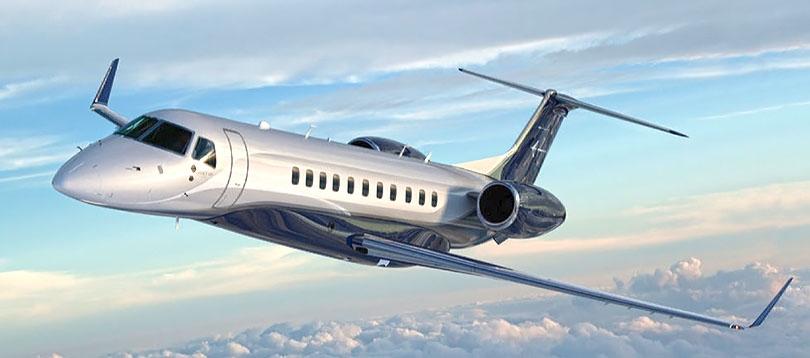 Embraer -  TissoT Aviation Privatjets Flugzeuge zu mieten Schweiz