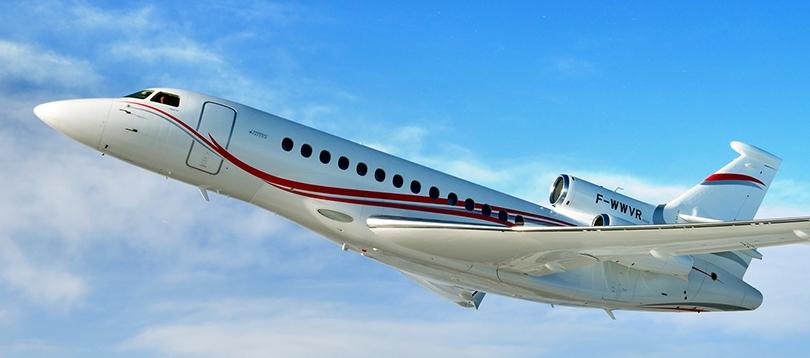 Dassault -  à louer TissoT Aviation Charter Suisse