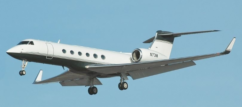 Gulfstream -  à louer TissoT Aviation Charter Suisse