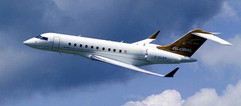 Bombardier -  à louer TissoT Aviation Charter Suisse