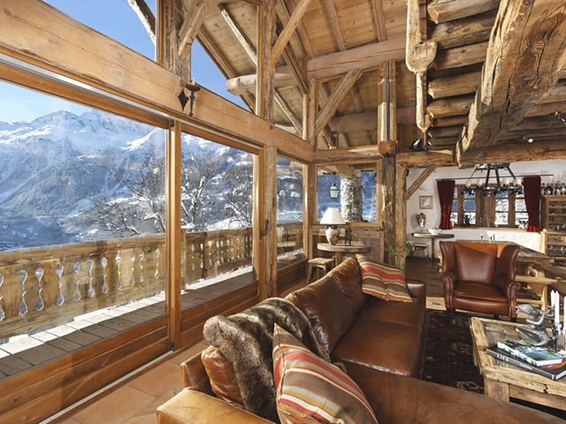 TissoT - Real estate mountain alpine apartment for sale