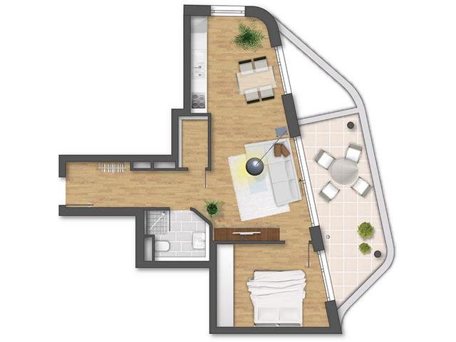 Real estate - Stuttgart - Appartement