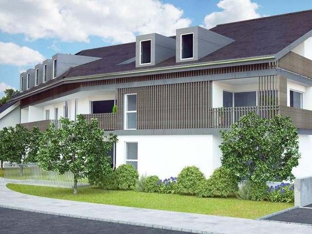 Palézieux - Neubauprojekte Häuser Villen Schweiz Immobilienverkauf