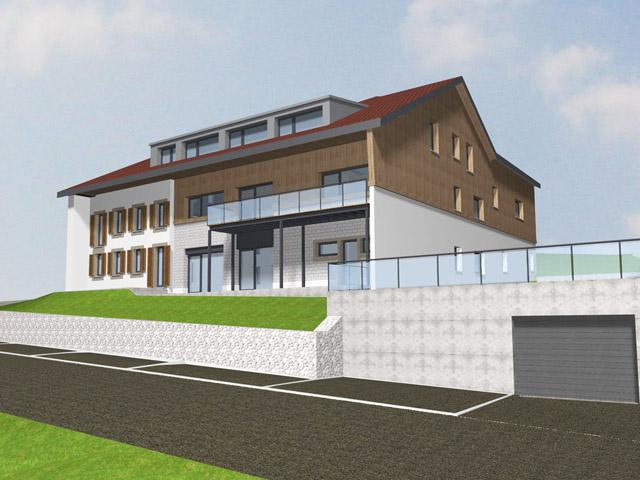 Siviriez - Neubauprojekte Häuser Villen Schweiz Immobilienverkauf