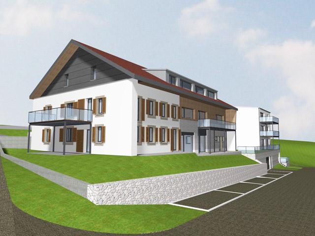 Bien immobilier - Siviriez - Appartements