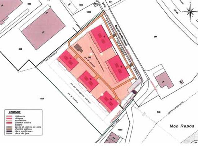 Cheseaux-sur-Lausanne - Appartements