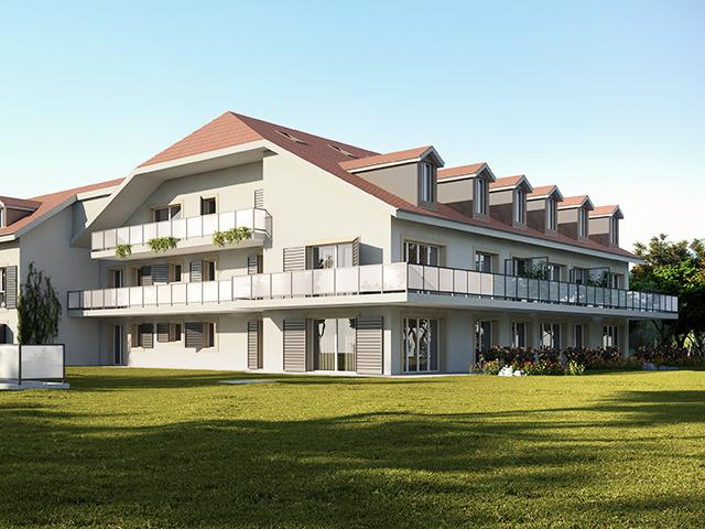 Champagne - Neubauprojekte Wohnungen Schweiz Immobilienverkauf