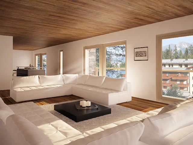 Crans-Montana - Neubauprojekte Häuser Villen Schweiz Immobilienverkauf