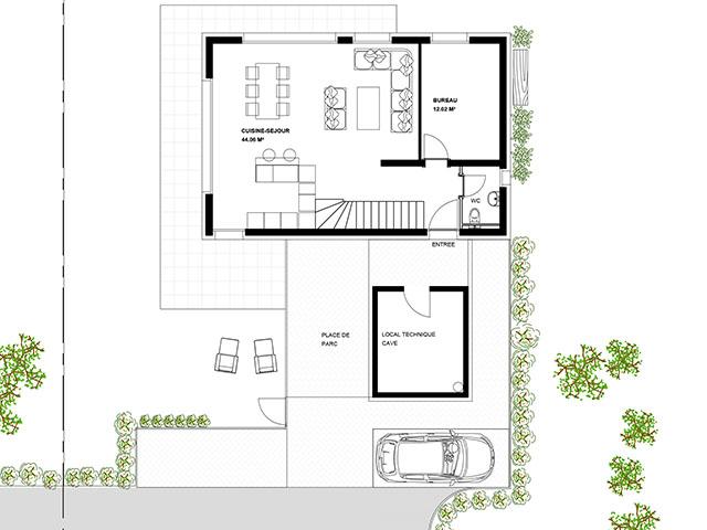 Neubauprojekt - Conthey - Villas