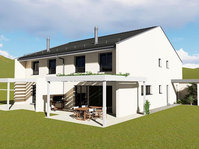 Commugny - Neubauprojekte Häuser Villen Schweiz Immobilienverkauf