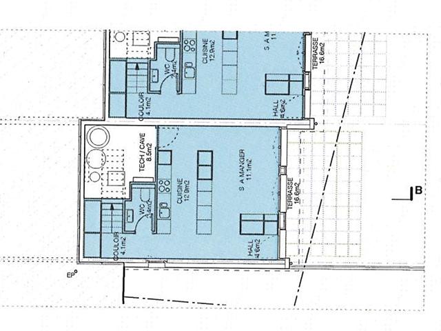 Bien immobilier - Courtepin - Villas