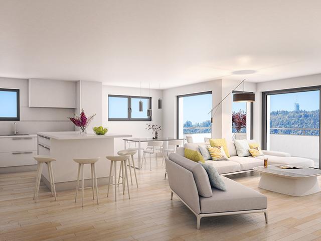 Attalens - Promotion appartements neufs Vente immobilière