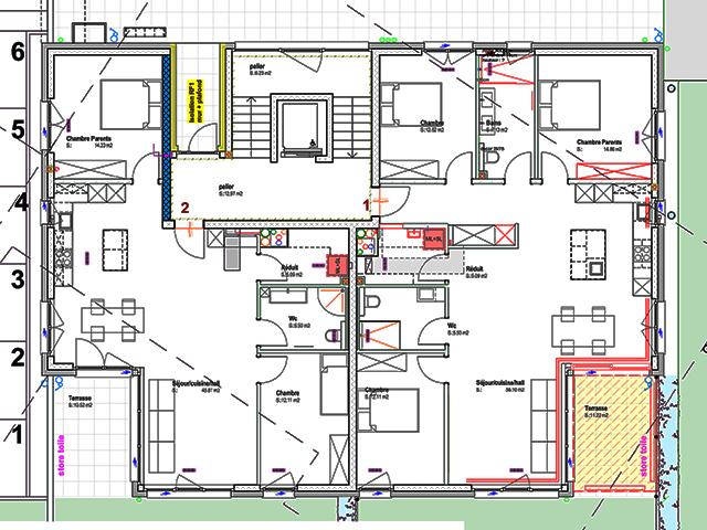 Bien immobilier - Attalens - Appartements