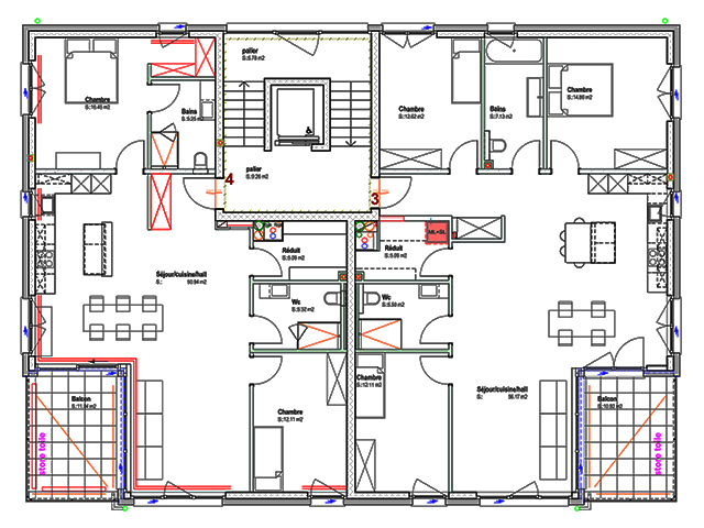 Attalens TissoT Immobilier : Appartements