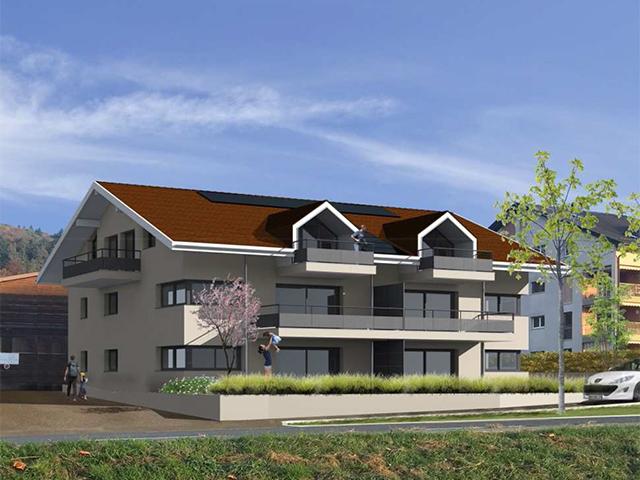 Bursins - Neubauprojekte Häuser Villen Schweiz Immobilienverkauf