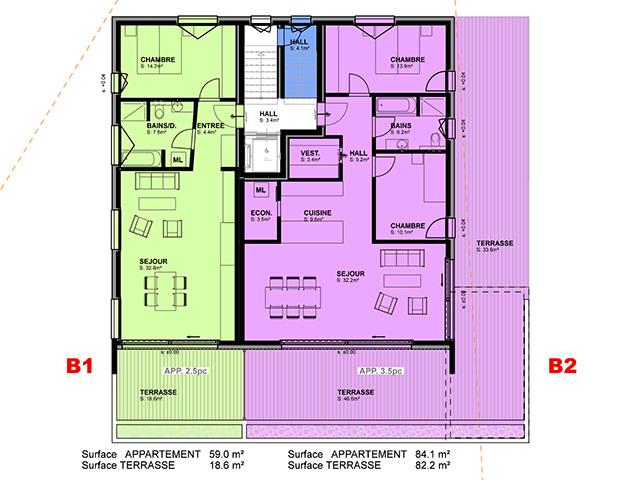Cresuz TissoT Immobilier : Appartements