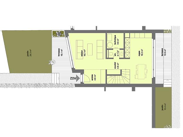 Neubauprojekt - Gletterens - Villas