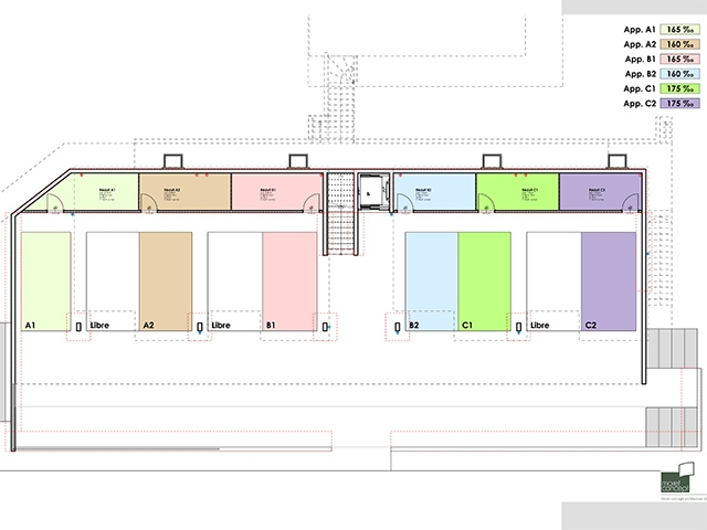 Neubauprojekt - Bulle - Wohnungen