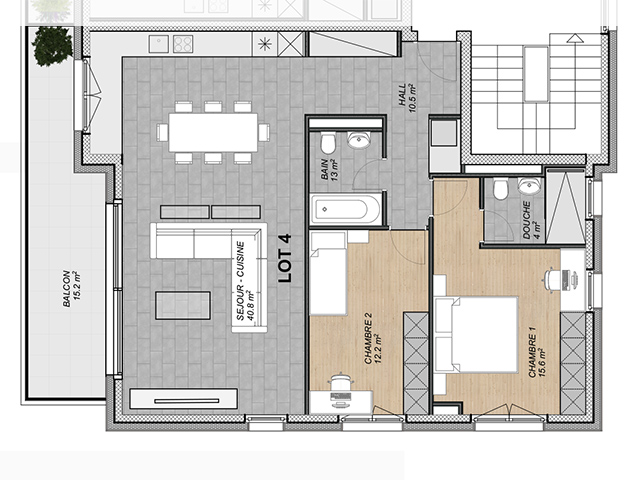 Attalens 1616 FR - Appartements - TissoT Immobilier