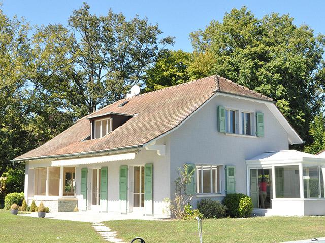 Versoix - Villa individuelle 7 pièces - Location immobilière