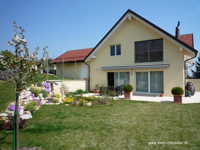 Echandens - Villa individuale 4.5 locali, Immobili In Locazione