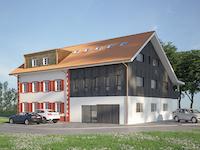 Bien immobilier - Bubendorf - Rez-jardin 4.5 pièces