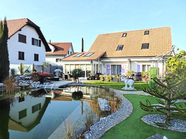 Buttwil - Splendide Villa 5.5 pièces - Vente immobilière