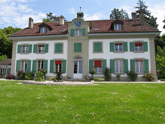 Villa 1008 jouxtens m zery vente tissot immobilier for Achat maison suisse romande