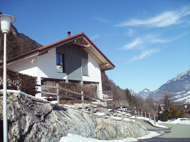 Villars-sous-Mont Einfamilienhaus 6.5 Zimmer