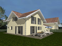 Vallorbe Semi-detached house 6.5 Rooms