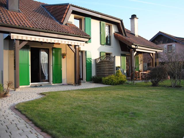 Villa mitoyenne 1041 bottens vente tissot immobilier for Achat maison suisse romande