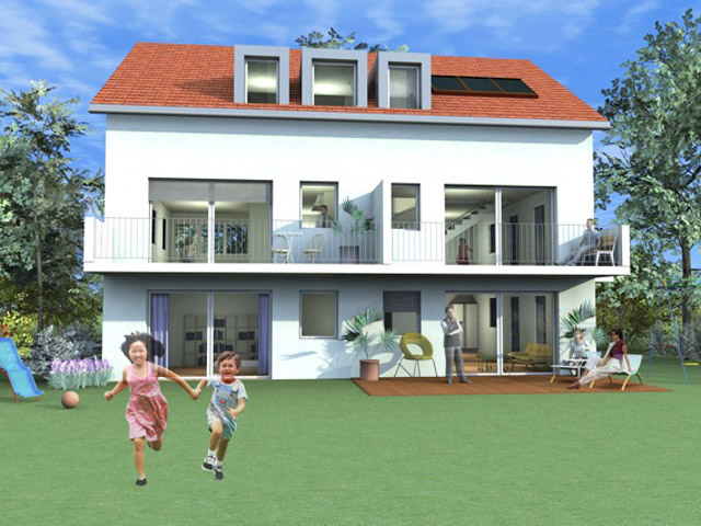 Saint-Prex Ground-floor flat with garden 4.5 Rooms