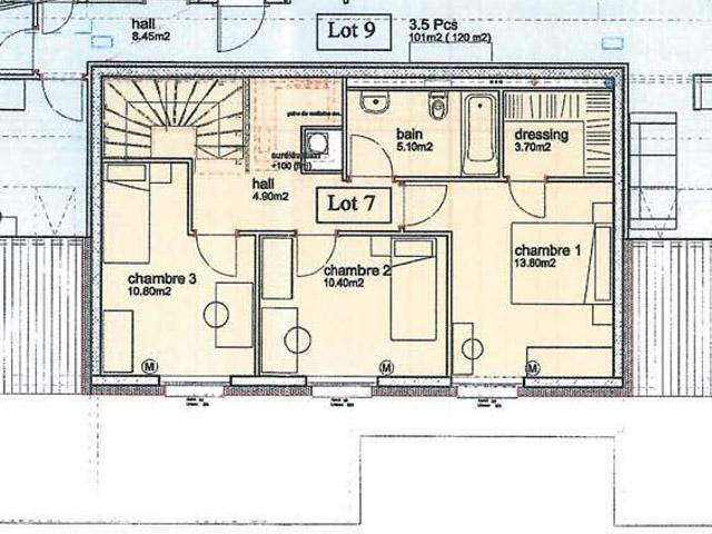 Orbe 1350 VD - Duplex 4.5 pièces - TissoT Immobilier