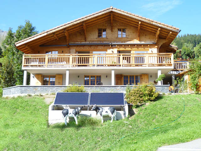 Château-d-Oex - Chalet 5 Rooms - Sell buy TissoT real estate