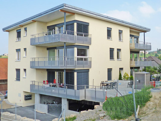 FRIBOURG-GLANE - LA COTE DES ESSERTS