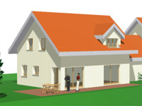 Cugy -             Doppeleinfamilienhaus 5.5 Zimmer