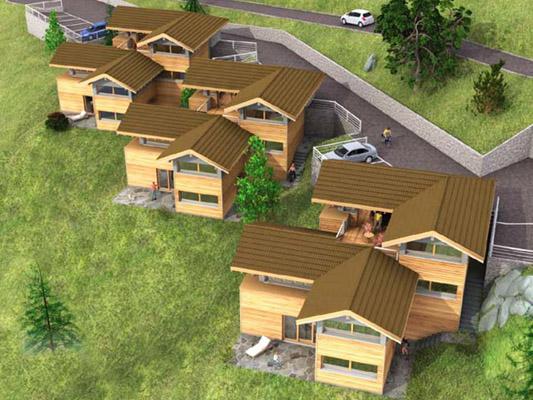 LES AGETTES - LES TERRASSES DE GIETI TissoT Real estate