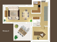 Bien immobilier - Les Agettes - Villa jumelle 6.5 pièces