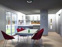 Agence immobilière Gletterens - TissoT Immobilier : Villa jumelle 4.5 pièces