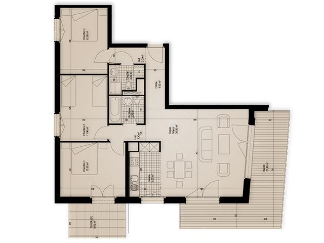 Promotion DOMAINE DU PARC - Appartement - LEYSIN