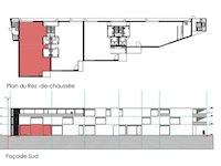 Bien immobilier - Marly - Immeuble commercial et résidentiel - pièces