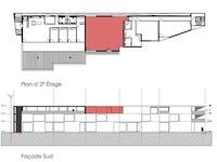 Marly 1723 FR - Immeuble commercial et résidentiel - pièces - TissoT Immobilier