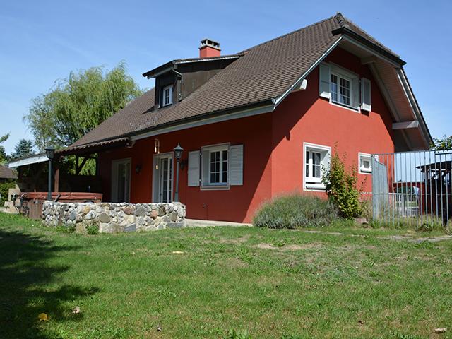 Villa individuelle 1040 echallens vente tissot immobilier for Achat maison suisse romande