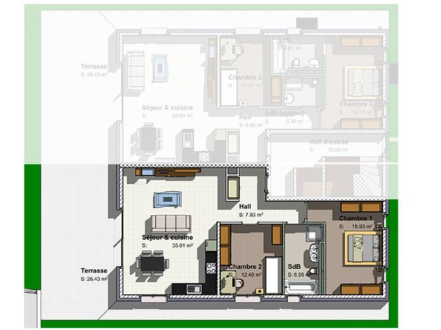 Pomy Appartamenti con giardino 3.5 Locali