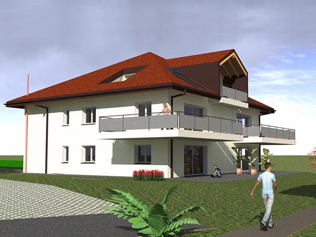 Appartement 1405 pomy vente tissot immobilier for Achat maison suisse romande