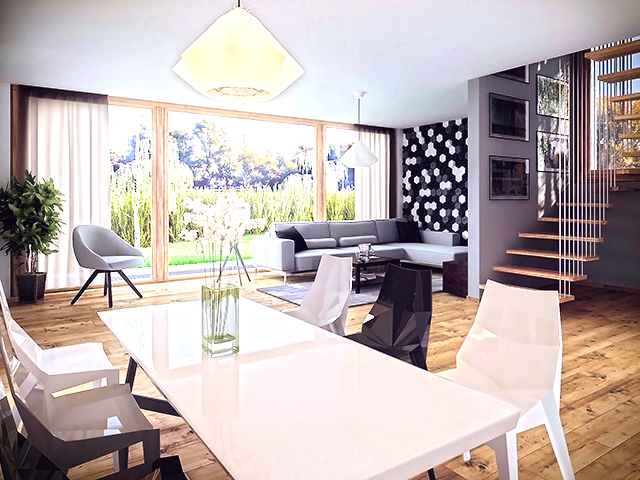 Le Grand-Saconnex - Villa 5.0 Rooms - Sell buy TissoT real estate